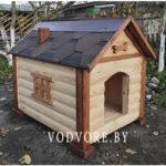 будка для собаки люкс